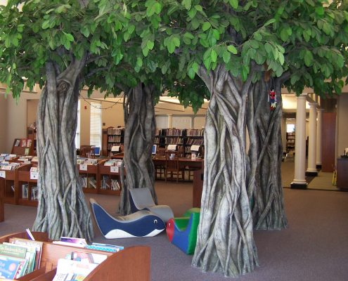 Trees-Tree-Nature-Maker-Naturemaker-Art-Artificial-Fake-Custom-design-unique-best-public-banyan-library-alabama
