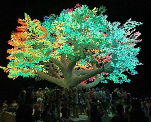 Trees-Tree-Nature-Maker-Naturemaker-Art-Artificial-Fake-Custom-design-installation-LED-lights-miscellaneous-commercial